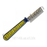 Расческа пластиковая желто-синяя с частым зубом Юни Зоо фото