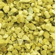 Крошка мраморная желтая фото