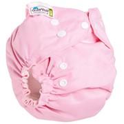Многоразовый подгузник GlorYes! CLASSIC+ Розовый 3-18 кг + два вкладыша фото