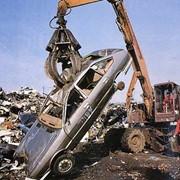 Утилизация отработанных автомобильных фильтров. фото