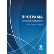 Программа вводного инструктажа по охране труда. 2009.-108с. фото