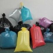 Мусорные пакеты:толщиной от 5 мкм,в рулонах и пачках, объемом 20, 30, 60, 120, 160, 240 литров. фото