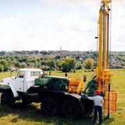 Инженерно-геологические изыскания под строительство. фото