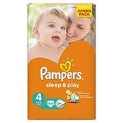 Подгузники Pampers Sleep & Play 4 (8-14 кг), 68 шт фото