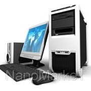 Компьютер в комплекте промышленный фото