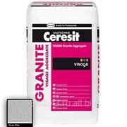 Наполнитель для декоративной штукатурки Ceresit CT 710 Visage Aggregate Гранит Nordic White фото