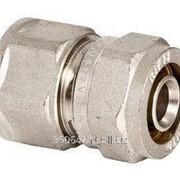 Соединение с внутренней резьбой Ø20х 3/4' никель (компрессионное), VALTEC фото