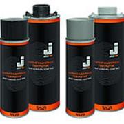 Антигравийные покрытия JetaPro. Евробаллон под насадку 1л. Цвет:серый фото