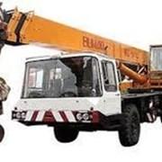 Аренда услуги автокран 25 тонн Bumar.  фото