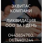Ликвидация ООО в Киеве за 24 часа.  фото