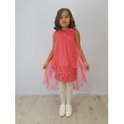Детское нарядное платье - Флора Гипюр (ТД Минавла) фото