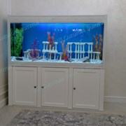 Интерьерные аквариумы на заказ. фото