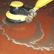 Размывка ротором напольных покрытий. фото