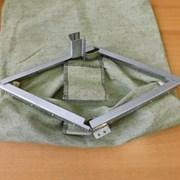 Сумка инкассаторская с металлическим замком фото