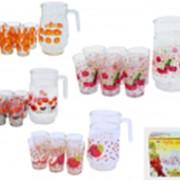 Наборы для сока, стаканы, кружки оптом из Сумы фото