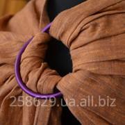 Слинг с кольцами для новорожденных тм Наш слинг Терракот фото