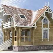 Деревянный дом из сруба 134 м2. фото