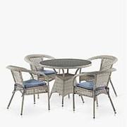 Комплект плетеной мебели T220CT/Y32-W85 Latte 4Pcs (4+1) фото