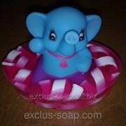 Слоник в мыле! фото