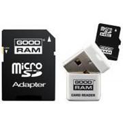 Карта памяти GOODRAM 8GB microSDHC Class 10 (USDR48GBC10R9) фото