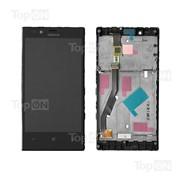 Матрица и тачскрин (сенсорное стекло) в сборе для смартфона Nokia Lumia 720 фото