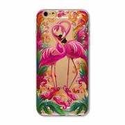 Силиконовый чехол для iPhone Фламинго фото