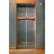 Лифт с телескопическими дверями фото
