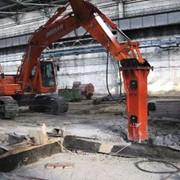 Демонтаж железобетонных конструкций фото