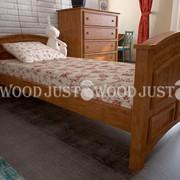 Кровать из сосны фото