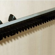 Вешалка для галстуков выдвижная, черная J-01.01 фото