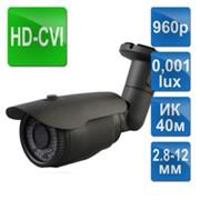 HD-CVI видеокамера ACW-13MVFIR-40/2.8-12 фото