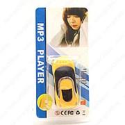 MP3 плеер форме автомобиля (Желтый) фото