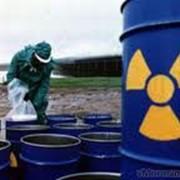Сбор и сортировка радиоактивных отходов фото