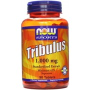 Tribulus 1,000 mg Now Foods 90 tabs. фото