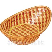 Хлебница редкого плетения бело- коричневые , арт. 837102 фото