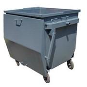 Евроконтейнер для мусора. Бункеры мусорные фото