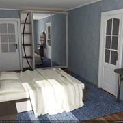 Спальня компактная фото