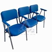 Ряды стульев АЛИСА-ТРИО-П, стулья аудиторные
