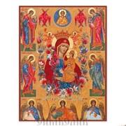 Икона Божией Матери Неувядаемый Цвет для авто фото