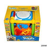 Игрушка молоток пищалка куб сортер 21-2481 фото