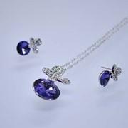 Бижутерия с кристаллами Swarovski (Сваровски) Набор 302 фото