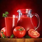 Сок томатный. Консервы соков овощных фото