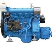 Судовой двигатель TDME-480 37 л.с. с редуктором фото