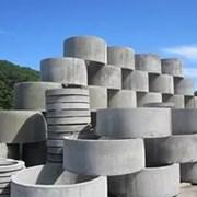 Кольца жби бетонные дно крышки фото