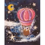 """Набор для вышивания бисером """"На воздушном шаре"""" FLF-047 фото"""