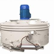 Бетоносмеситель роторный СБ-247, объём 2250 л фото