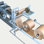 Оборудование для производства бумажных мешков УБК-2 клапанный станок фото
