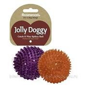 Игрушка для собак Catch & Play Spikey Ball Rosewood Jolly Doggy фото