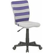 Кресло компьютерное Halmar FUEGO (серо-фиолетовый) фото