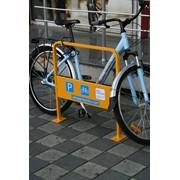 Велопарковка U-образная широкая. фото